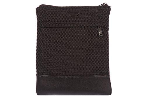 Armani Jeans Umhängetasche Herren Tasche Schultertasche Messenger Bag Schwarz