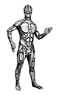 Morphsuits Men's Monster The Android Skinsuit, Large