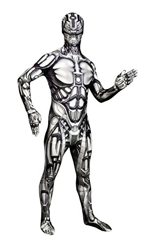 Morphsuits Men's Monster The Android Skinsuit, X-Large