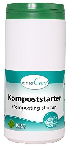 cdVet Naturprodukte casaCare Kompoststarter 1 kg - Optimierung Düngeeigenschaften - natürlich - Humifizierung - Humusgeruch -  Bekämpfung Fäulnisgeruch + Schaderregern - ohne chemische Rückstände -