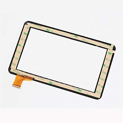 Monitor de Pantalla Plana 7'Pulgada/Ajuste for Storex Ezee Tab 706 / Logicom Tab 750 Tablet Pantalla táctil Panel Digitalizador de reemplazo del Sensor de Vidrio (Color : White)