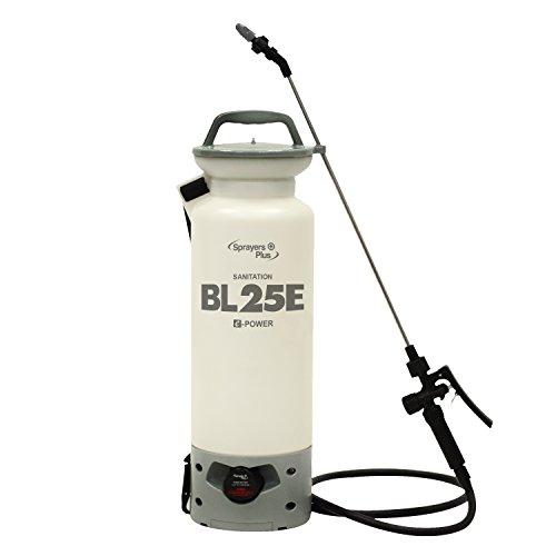 BL25E Battery Sprayer - 12V Lithium-ion, Sanitation, Bleach & Carpet Cleaning, 2 Gallon