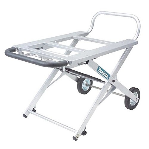 Best Portable Table Saw Stand Reviews - Makita 194093-8 Adjustable Portable Table Saw Stand with Wheels