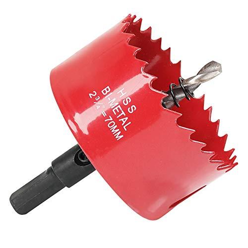 Sierras de Corona 70 mm, M42 HSS Bi-Metal Coronas Perforadoras con Adaptador...