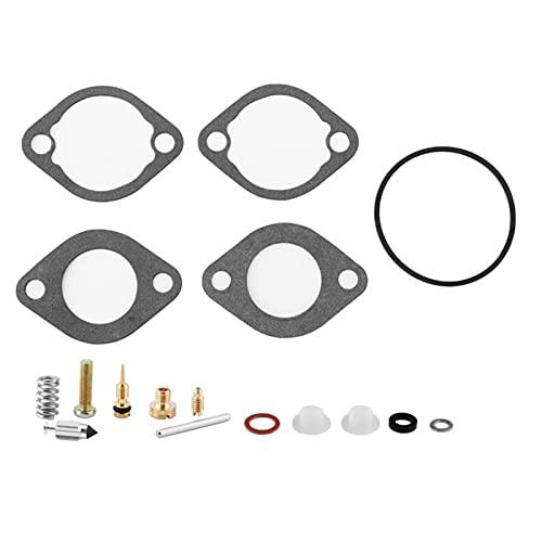 Kit de carburador Herramienta de Ajuste de carburador 17 UNIDS Kit de reconstrucción de reparación de carburador para Kawasaki 610 600 SX Mule Free NJ 15004-0953 Kit de Motor