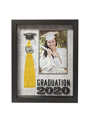 Prinz Graduation 2020 4 - Marco de Fotos de 15 cm con Borla y Fondo de mármol