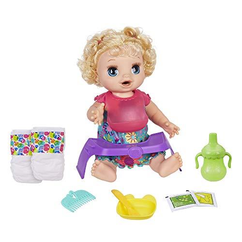 Baby Alive Bebé Comelona Rubia Doll