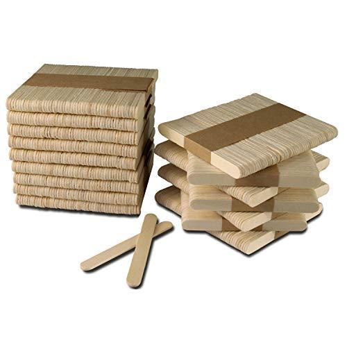 800 Palos de Helados de 9.4 cm. palitos de madera manualidades sin...