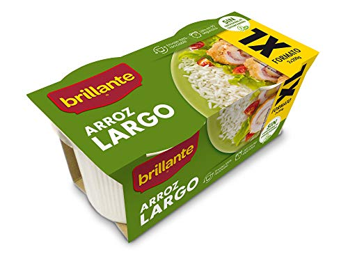 Brillante Arroz Largo Precocido, 2 x 200g