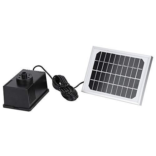 Kit De Bomba De Agua Solar, Bomba De Agua Sumergible De 1.8W 9V Bomba De Fuente Solar para Baño De Pájaros para Exteriores para Tanques De Peces para Estanques