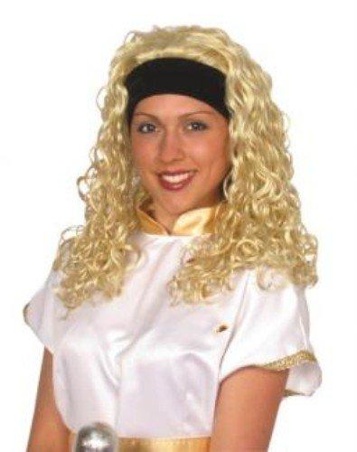 Superstar perruque blonde [Jouet]