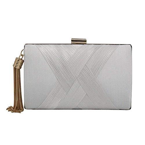 LEOO Damen Abend Clutch Bag Designer Abend Handtasche, Lady Party Clutch Geldbörse, großes Geschenk Wahl (Color : 7)