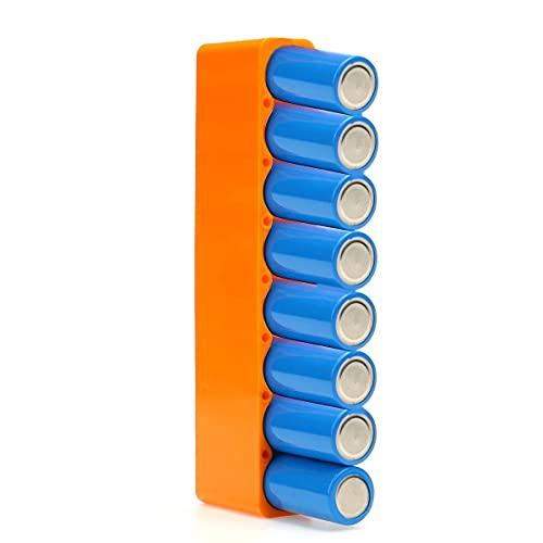 Datauya 8 18650 Accesorios de la batería, Soportes de empaquetamiento de la máquina de Soldadura por Puntos, utilizados para máquinas de Soldadura por Puntos