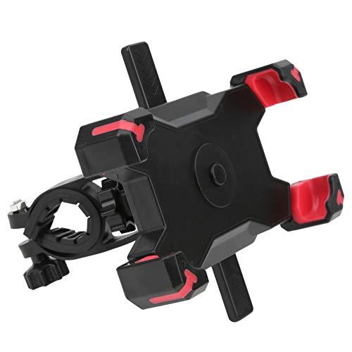 Tomanbery Soporte Giratorio para teléfono de Bicicleta extraíble para Bicicleta de montaña, Bicicleta estática para Bicicletas Plegables para teléfonos Inteligentes(Red)