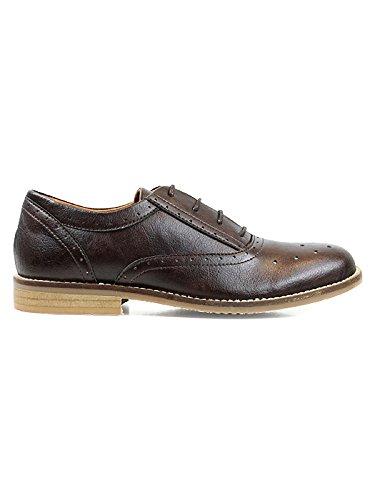 Wills Vegan Shoes Chukka boots - Botas para hombre Marrón marrón oscuro