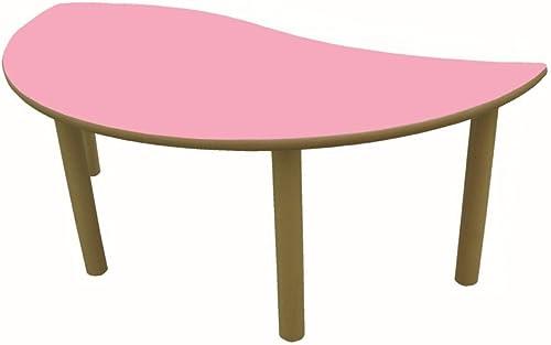 Mobeduc Flachrundzange Kindertisch, Wellenl e, Holz 120 x 6cm  , Größe 0 Haya y Rosa