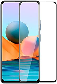 Muzz Redmi Note 10 5G 3D Curved Full Coverage Premium Scratch Resistance 5D Touch Tempered Glass Screen Protector For Redm...