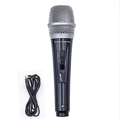 Dynamic Musical instrument Microphone for Singing with 3.5M/11.40 ft XLR Cable, Handheld Mic for Karaoke Singing, Speech, Wedding, Stage and Outdoor Activity