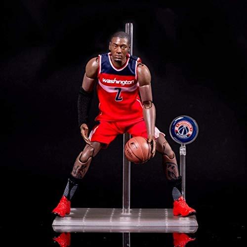Lianlili Figura de acción de la Serie NBA 22cm 2, John Wall, Wizards edición Limitada de colección: Figuras de la NBA