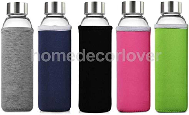 PlenTree Creative Trannt Sports Bottle Insulated Water Bottle Black  Navy