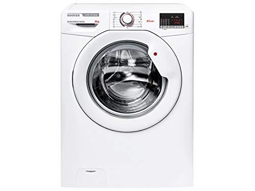 Hoover HSX 1482D3-S Waschmaschine Weiß Waschvollautomat A+++ 8kg Trommel 1400 U.