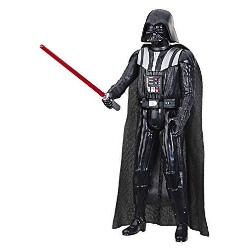 Star Wars Hero Series Darth Vader Toy 12' Scale Action Figure with Lightsaber Accessory, Toys for...