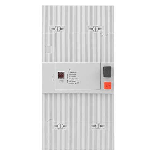 Disyuntor, 30-60A 4 polos 50Hz/60Hz Interruptor de aire de protección de disyuntor de bajo voltaje