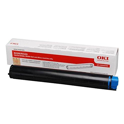 OKI 43640302 B2200, B2400 Tonerkartusche 2.000 Seiten, schwarz