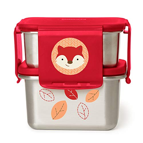 Price comparison product image Skip Hop Stainless Steel Toddler Lunch Kit,  Fox