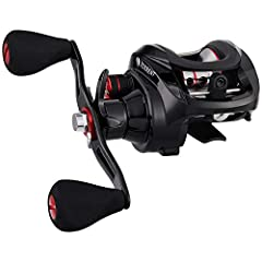 POWERFUL- Advanced, 4-washer, gives the low profile baitcasting reel physically powerful 18LB carbon fiber drag to handle the big fish you are after DURABLE - Industrial durable-strength, climate-resistant Japanese Hami cut 3604 brass gears, these ar...