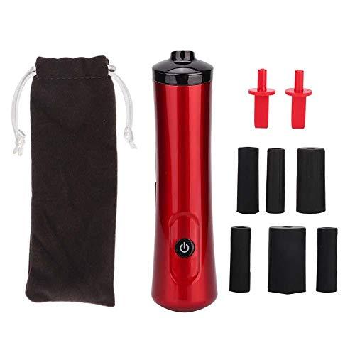 Wimpernkleber Shaker, automatische elektrische Shaker Nagellack Shaker Wimpernverlängerung Werkzeug(rot)