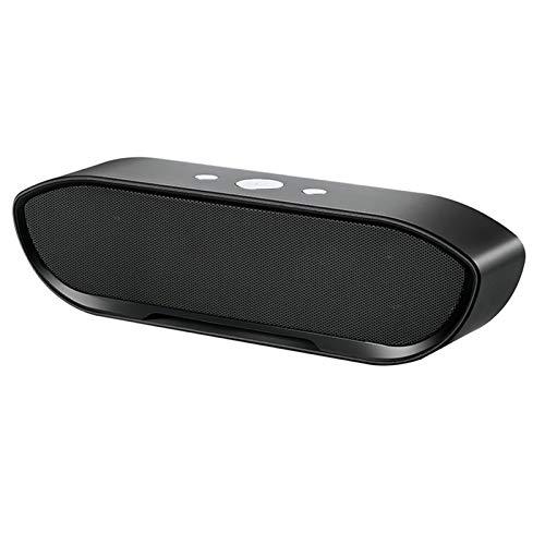 Kaper Go Schwarz drahtlose Bluetooth-Lautsprecher Mini-Subwoofer tragbare Zweikanal-Audio-Unterstützung TF AUX