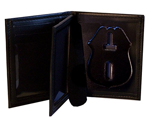 Hidden Badge Wallet for NY City Police Sergeant (Cutout PF287)