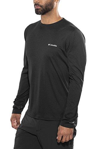 Columbia Zero rulestm Long Sleeve Shirt Black, Noir, XXL