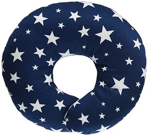 ESMERALDA(エスメラルダ)ドーナツ枕日本製ひとつひとつ手作り赤ちゃん頭の形が良くなる【まる型】ミッドナイトブルー