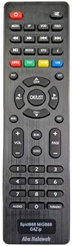 Replacement Remote Control for Spider HD Satellite Receiver product image