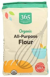365 by Whole Foods Market, Organic Flour, All-Purpose, 5 Pound