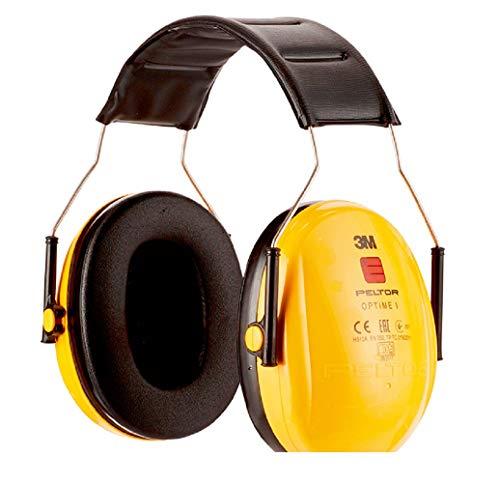 3M Peltor Optime I Kapselgehörschutz A3 – Faltbarer Gehörschützer mit Weichen und Ersetzbaren Polstern für Optimalen Tragekomfort – SNR 28dB Hörschutz bei mittlerem Geräuschpegel