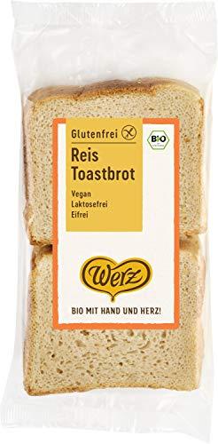 Werz Reis-Toastbrot, glutenfrei, 2er pack (2 x 250g)