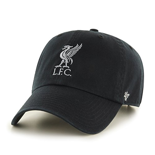47Brand Clean Up Adjustable Cap FC Liverpool EPL-RGW04GWS-BKA Schwarz, Size:ONE Size