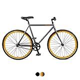 Retrospec Harper Single-Speed Fixie Style  Commuter Bike with...