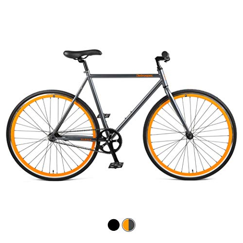 Why Choose Retrospec Harper Single-Speed Fixie Style Urban Commuter Bike with Coaster Brake, Matte B...