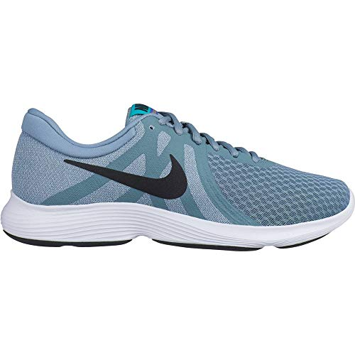 Nike Wmns Revolution 4, Zapatillas de Atletismo Mujer, Multicolor (Aviator Grey/Black/Barely Grey 000), 35.5 EU