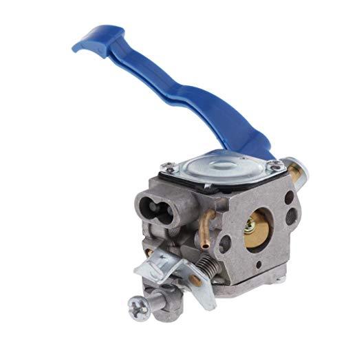 perfk Parte Del Cortacésped Carburador Carburador Compatible con Soplador 125B 125BX 125BVX