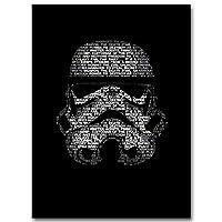 リビングルームの装飾のためのウォールピクチャー絵画ストームトルーパースターウォーズウォールアート映画ポスターとプリントブラックホワイト (Color : Picture 1, Size (Inch) : 60x80cm Unframed)