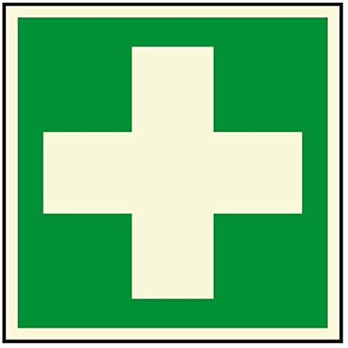 LEMAX® PERMALIGHT plus Rettungszeichen Erste Hilfe,ASR/ISO, Folie,selbstkl.,148x148mm