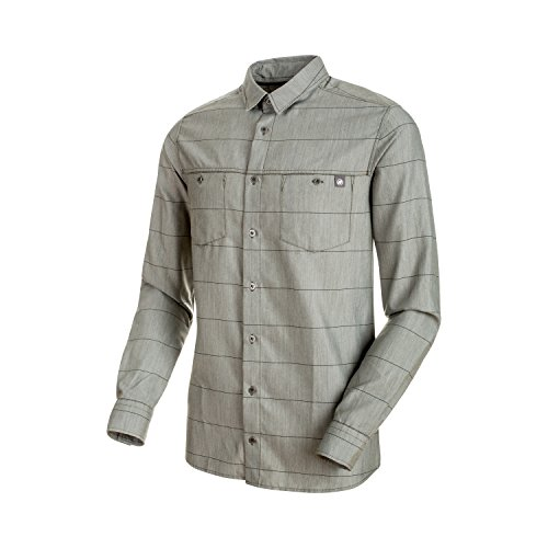 Mammut Alvra Longsleeve Shirt Iguana/Marine L