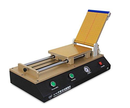 NEWTRY Máquina de laminación Tablet Automática OCA Laminadora OCA Polarizer Film Laminator Máquina para reparación LCD Necesita Compresor de aire TBK-766