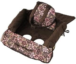 eddie bauer shopping cart cover pink