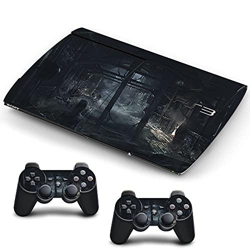 VINILOL Vinilo Thief para Playstation 3 Super Slim pegatina cubierta skin para consola y 2 mandos